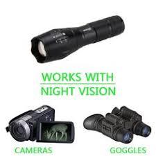 <b>VASTFIRE</b> Focusable <b>Infrared</b> Flashlight <b>IR</b> Light Thermal Hog Hunt ...
