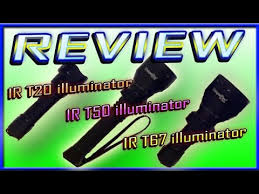 REVIEW UniqueFire 3 <b>IR</b> led torches <b>IR</b> T20 , T50 illuminator Plus ...