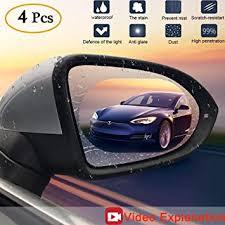 Anti Fog Film Car Rear View Mirror Waterproof Film ... - Amazon.com