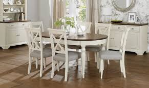 size dining room contemporary counter: oval dining table set for  with wooden counter top table and white dining chairs with grey pads