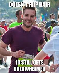 Ridiculously Photogenic Guy | doesn't flip hair 1d still gets ... via Relatably.com