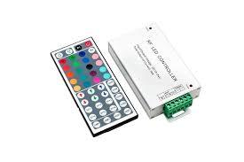 <b>Контроллер с пультом</b> для RGB ленты, 44 кнопки, 12/24V, 18A ...