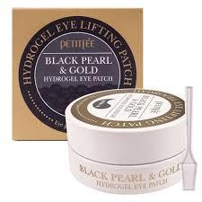 Petitfee <b>Гидрогелевые патчи для</b> глаз Black Pearl & Gold Eye ...