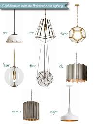 8 stylish pendant lighting solutions for a cozy breakfast area cozystylishchic breakfast area lighting