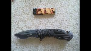 <b>нож stinger</b> sa-580b обзор - YouTube