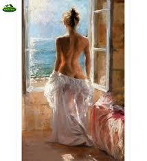 YUMEART <b>NEW 5D</b> DIY <b>diamond embroidery</b> naked woman home ...