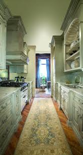 Contemporary Galley Kitchen Kitchen Contemporary Galley Kitchen Remodel Using White Furniture