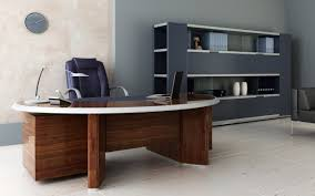 excellent supervisor office interior design which has curvy chair marvelous presented with cream and grey wall appealing design ideas home office interior