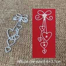 New Design <b>Craft Metal</b> Cutting Dies <b>Love heart</b> bow tie ...
