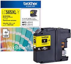 <b>Картридж Brother LC 565 XLY</b> желтый купить в интернет ...