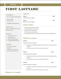 copy of resume format  copy and paste resume template format    copy
