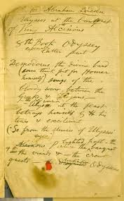 an integrated catalog of walt whitman s literary manuscripts the content notes toward a draft of abraham lincoln first published untitled in allen thorndike rice ed reminiscences of abraham lincoln 1886