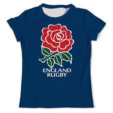 Футболка с полной запечаткой (мужская) <b>Англия регби</b> #2703513 ...