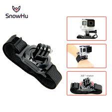 <b>SnowHu for Gopro Accessories</b> 360 Degree Rotation mini Wrist ...