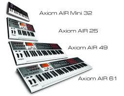 <b>M</b>-<b>Audio</b> Axiom AIR Mini 32 — компактная <b>MIDI</b>-клавиатура с ...