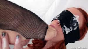 Chanel Preston HD Porn videos Blindfolded redhead hottie gets dominated by filthy Chanel Preston