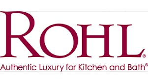 country kitchen column spout:  rohl logo