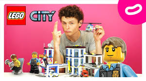 <b>LEGO</b> City. Играем с <b>конструктором</b> Лего <b>Полицейский участок</b> ...