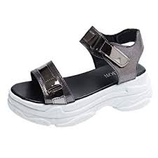 SHDOU Summer Fashion <b>Women</b> Sandals <b>Dropshipping</b> PU Fish ...
