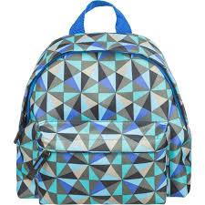 """<b>Рюкзак</b> детский """"<b>Треугольники</b>"""", 240x200x110 мм, голубой ..."""