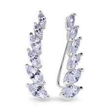 <b>Серебряные серьги</b> — купить в ювелирном интернет-магазине ...