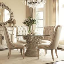 dining room table ways french style dining room with glass round table cleaning ways for glas