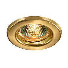 369695 <b>SPOT</b> NT12 137 золото Встраиваемый ПВ <b>светильник</b> ...