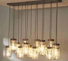 pb inspired mason jar chandelier diy show off diy decorating adore diy hanging mason jar
