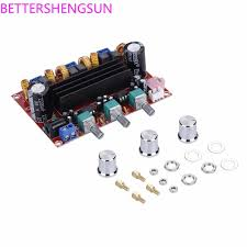<b>Xh m139 2.1 channel</b> digital power amplifier board 12v 24v wide ...