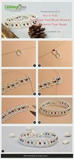 "<b>Браслет</b> из бисера ""Подснежник""/Bracelet from <b>beads</b> ""Snowdrop ..."