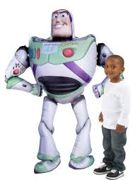 <b>Giant</b> Gliding <b>Buzz Lightyear</b> Balloon 62in - Toy Story 4 | Party City