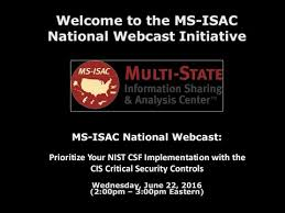 A Prioritized Approach to Implement the CIS Critical Security Co ...
