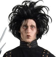 Edward Scissorhands Wig - Edward-Scissorhands-Wig-