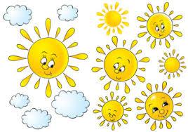 Afbeeldingsresultaat voor zon wolken