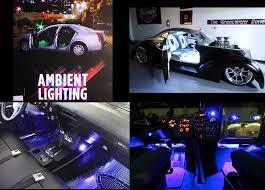 follow ambient interior lighting
