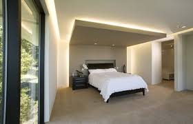 view in gallery spacious bedroom with a stylish interior and recessed ceiling lighting view in gallery bedroom recessed lighting