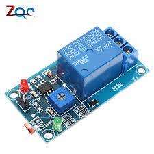 <b>12V</b> Photoresistor Relay Module <b>Light</b> Brightness Sensor Timer ...
