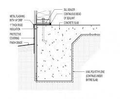 Slab Edge Insulation   Building America Solution CenterTurned down concrete slab   inch rigid insulation