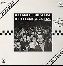 The <b>Special A.K.A.</b> Featuring Rico (The Specials) - Too Much Too ...