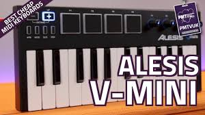 Alesis V-<b>Mini Portable USB</b> MIDI Controller Keyboard - Review ...