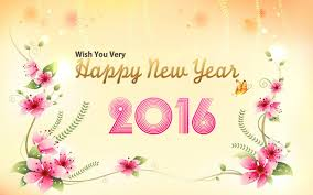 Image result for happy new year 2016 flowers