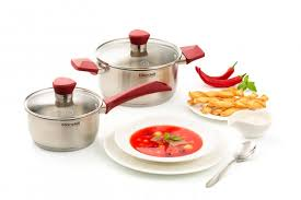 <b>Набор посуды 4</b> предм. (кастрюли с/кр 20/24 см) Strike Rondell ...