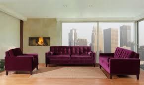 Purple Living Room Set Amazoncom Furniture Of America Wellington Premium Fabric Sofa