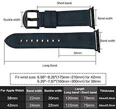 <b>MAIKES</b> for Apple Watch Bands 42mm 38mm, <b>Soft</b> and Comfortable ...