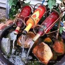 Fontana Cascata Da Giardino : Fontane da giardino fai te a costo zero dai rifiuti