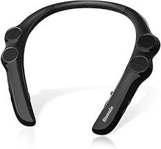 Bluenin Wearable <b>Neckband</b> Bluetooth 5.0 <b>Speaker</b>,<b>Wireless</b> Collar ...