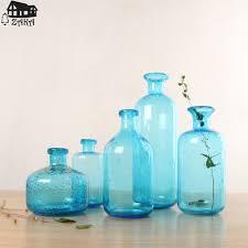 glass bubble vases bubble hand blown glass