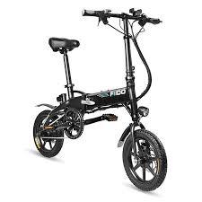 <b>FIIDO</b> D1 <b>Folding</b> Electric Bike 7.8Ah Battery Moped Bicycle-two ...