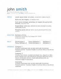 7 free resume templates modern professional resume templates