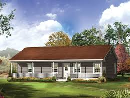 Living room and dining room combined  ranch style house plans      Ranch Style House Plans With Porches Country Ranch House Plans